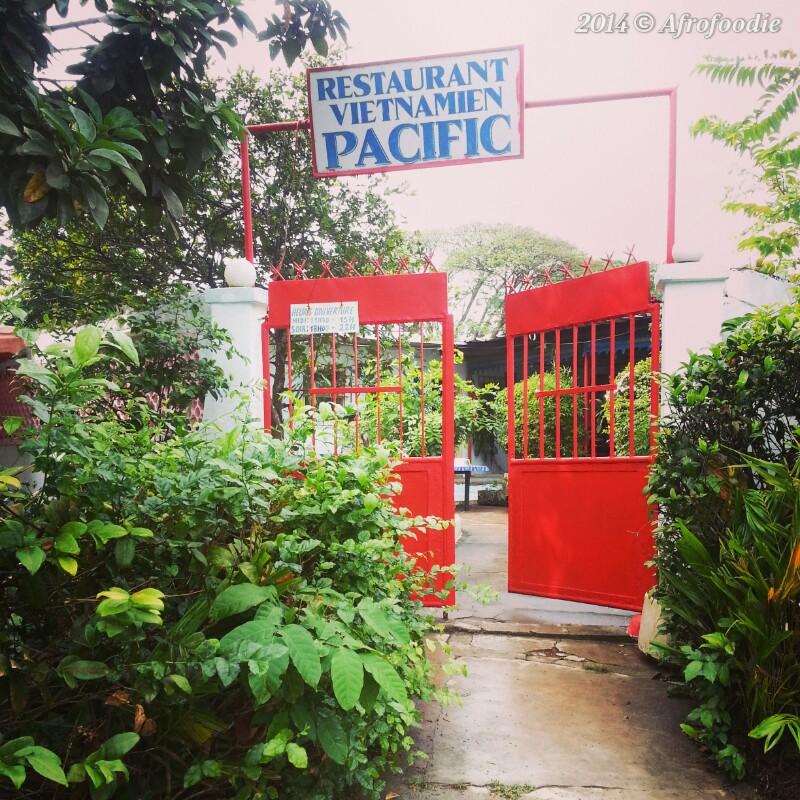 Restaurant vietnamien Le Pacific Abidjan