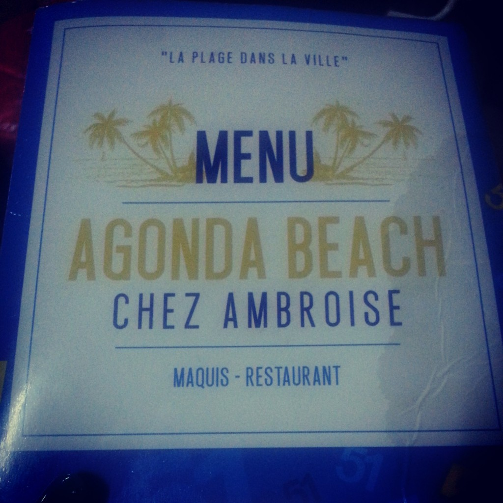 maquis Chez Ambroise à Abidjan