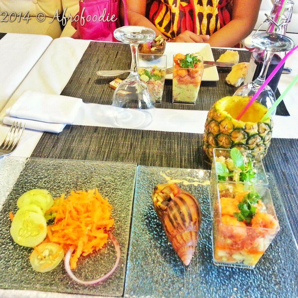 Afrobrunch du Restaurant Mosaïc à Abidjan