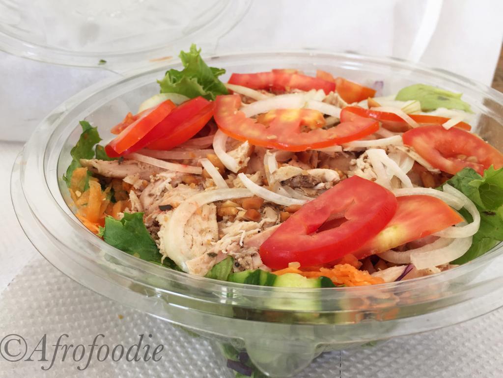 Salads & Subs Service Hello Food Côte d'Ivoire