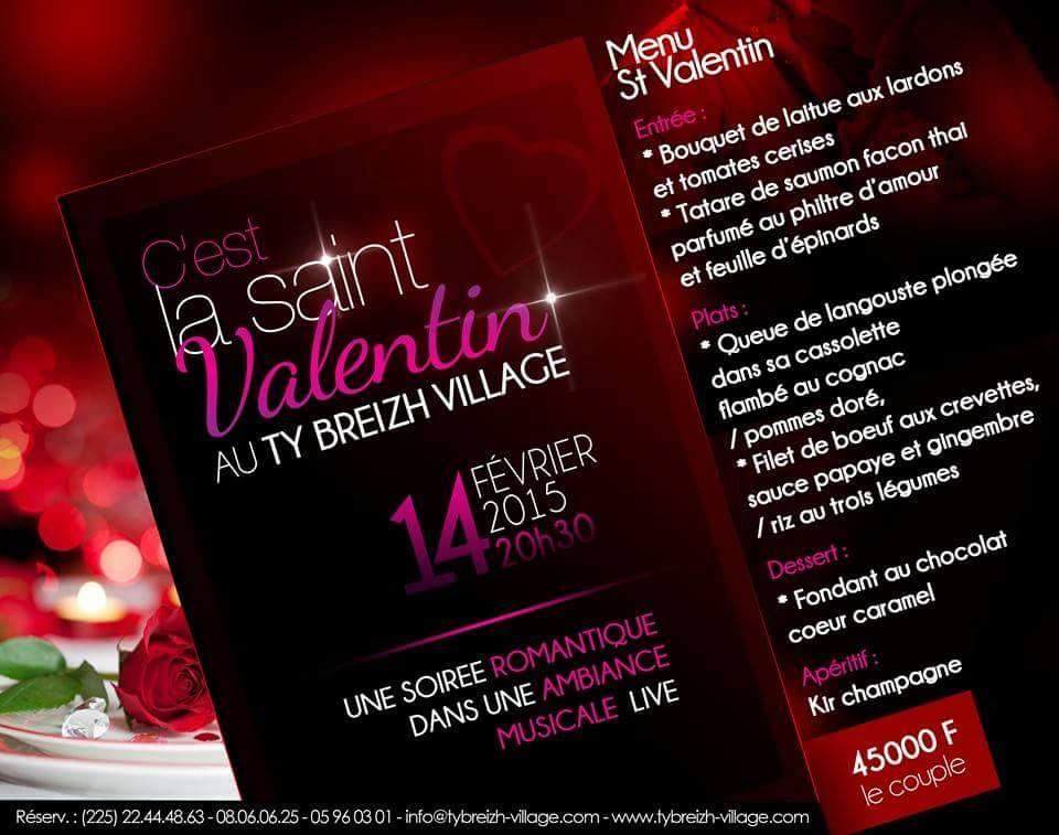 Saint Valentin 2015 à Abidjan