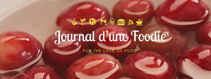 Collaboration avec Le Journal d'une Foodie