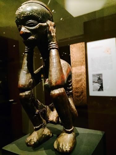 statuette manga, Luluwa, République Démocratique du Congo