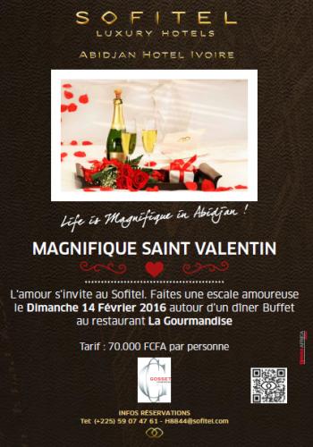 La Saint Valentin 2016 à Abidjan