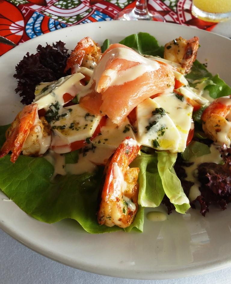 L'Abidjan Food de Saraounia Coucoué Lodge Assinie Cote d'Ivoire