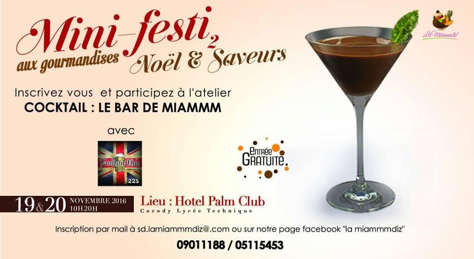 Mini-festi aux gourmandises 2016 Abidjan