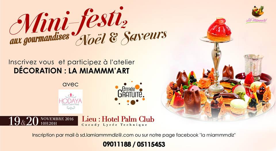 Mini-festi gourmandises 2016 Abidjan