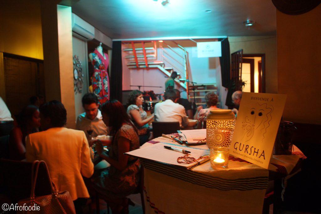 Gursha à l'Ivoirienne | Restaurant Ephémère Ethiopien : Gursha Abidjan