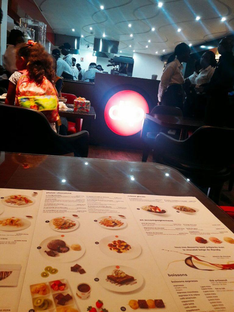 La carte à dipndip Abidjan
