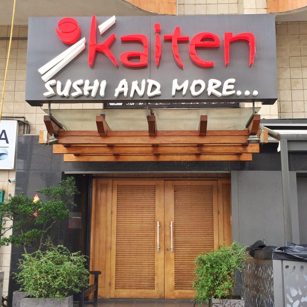 restaurant japonais Kaïten à Abidjan